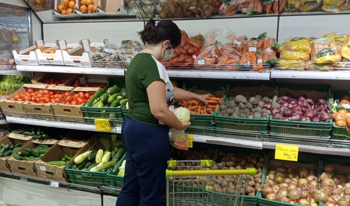 Калининградские единороссы ведут мониторинг за снижением цен на овощи